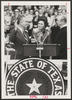 William Clements Jr. being sworn in as the 42th governor of Texas with his wife Rita by his side, January 1979 [e_cle_013456]
