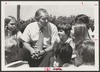 Bill Clements speaking with his future constituents during the 1978 campaign [e_cle_013457]